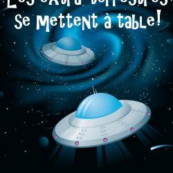 À table avec... les extra-terrestres! (Version à imprimer)