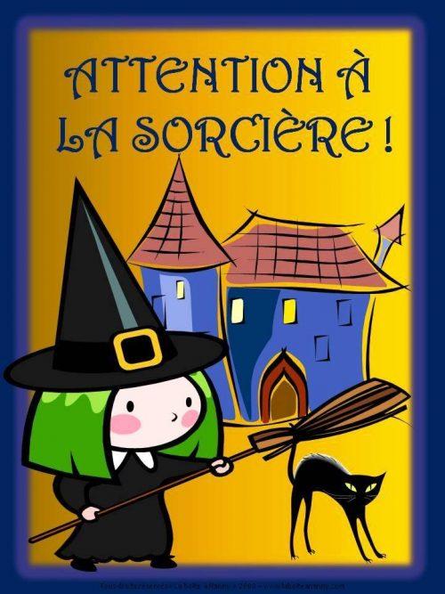 Attention à la sorcière!