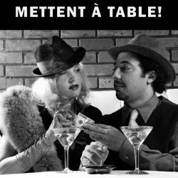 Les gangsters se mettent à table!