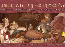 À table avec… un festin médiéval (à imprimer)
