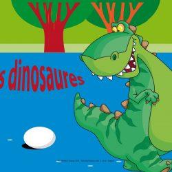 Anniversaire - Trousse les dinosaures