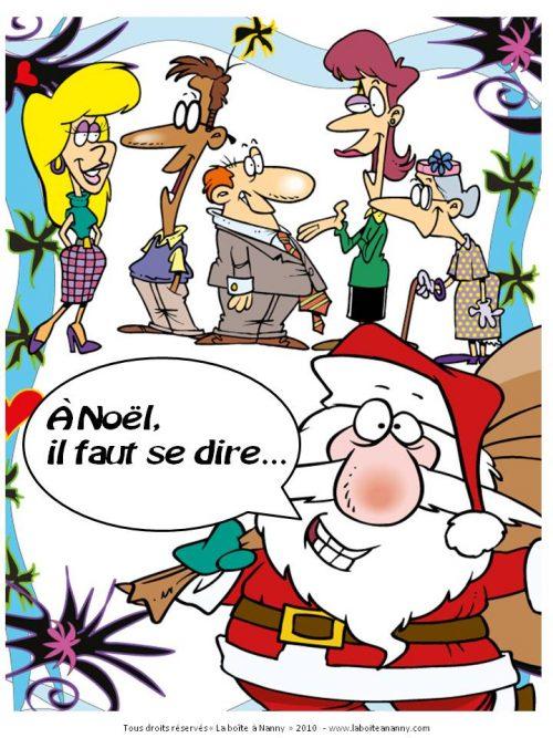 À Noël, il faut se dire...
