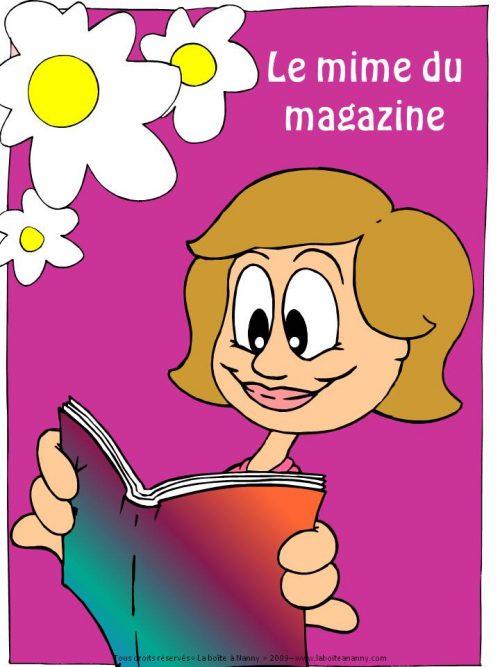 Le mime du magazine