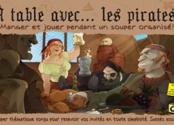 À table avec les pirates!