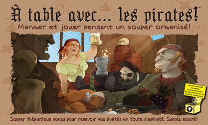 PROMO - À table avec les pirates!