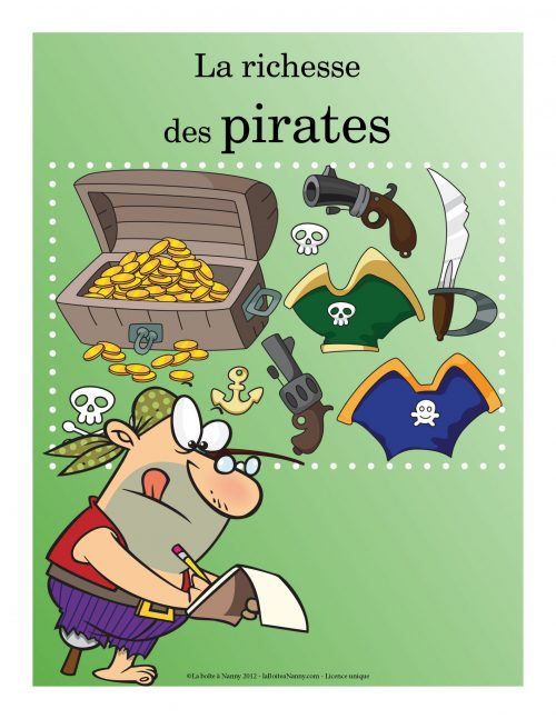 La richesse des pirates